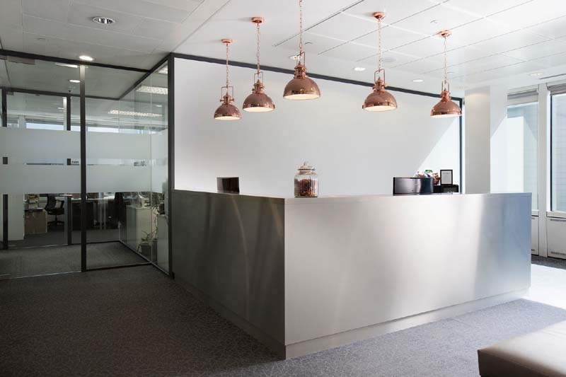 London Live Receptionist and Business Address Lobby