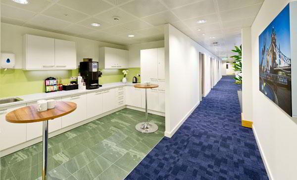 Break Room - Kitchen Area - London Mayfair Virtual Office