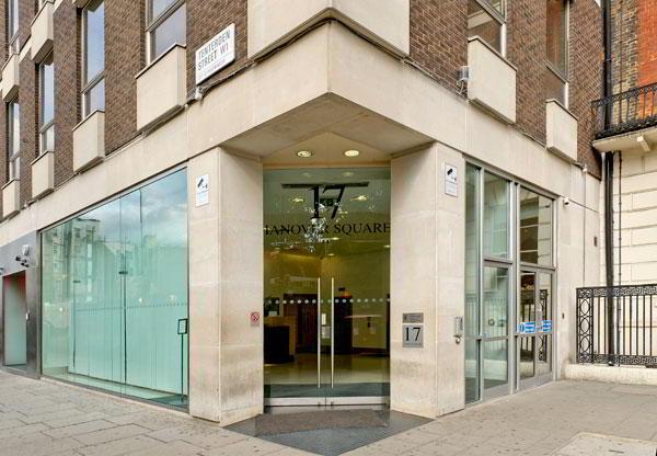 London Mayfair Virtual Office - Building Facade