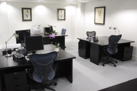 London West End Virtual Office Address - Lounge Commons Area