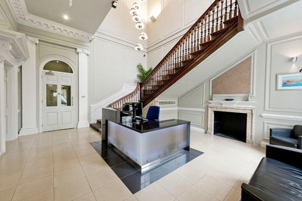 Stylish Entrance Lobby - Virtual Office in London West End