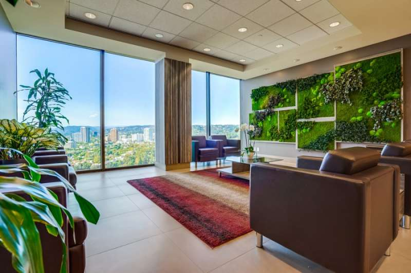 Receptionist Lobby - Virtual Offices in Los Angeles