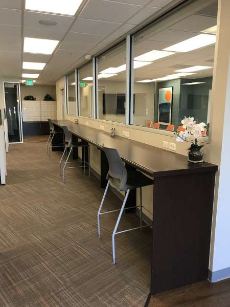Los Gatos Virtual Office Space - Comfortable Commons Area