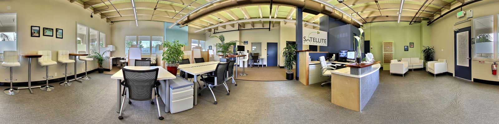 Los Gatos Live Receptionist and Business Address Lobby