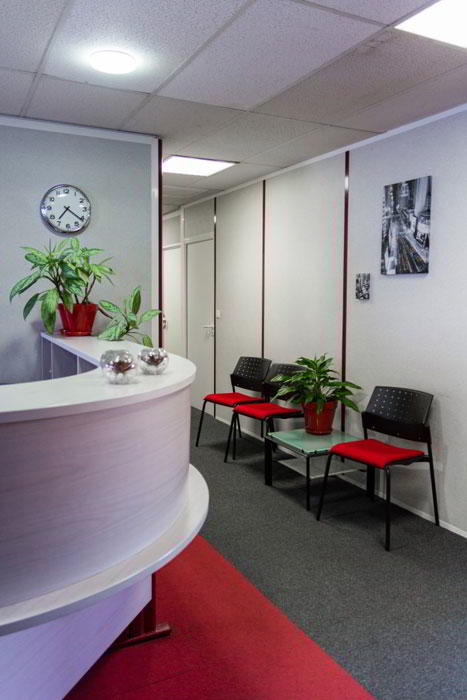 Lyon Live Receptionist and Business Address Lobby