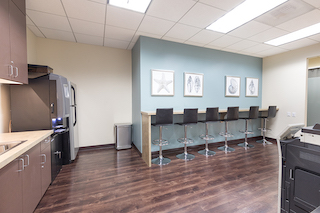 Break Area in Manhattan Beach Virtual Office Space