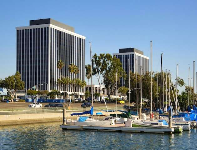 Marina Del Rey Business Address - Building Location