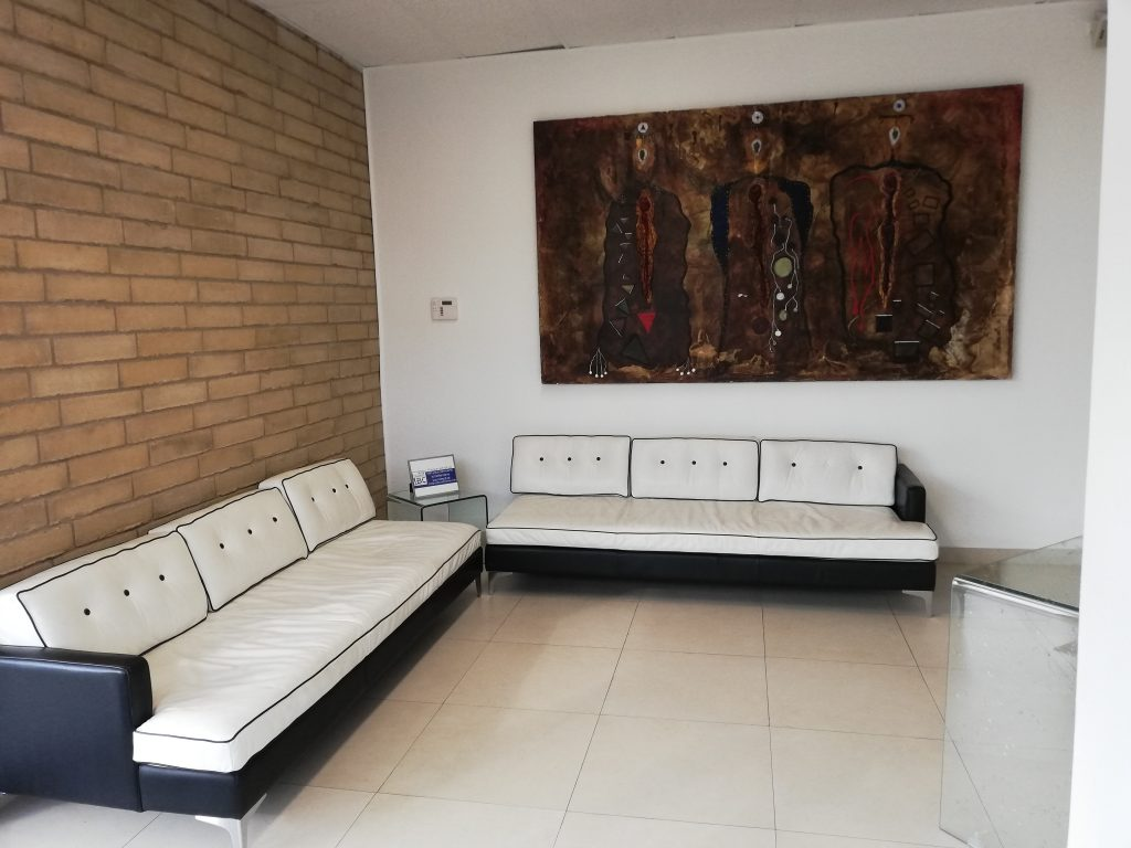 McAllen Busines Address - Lounge Area