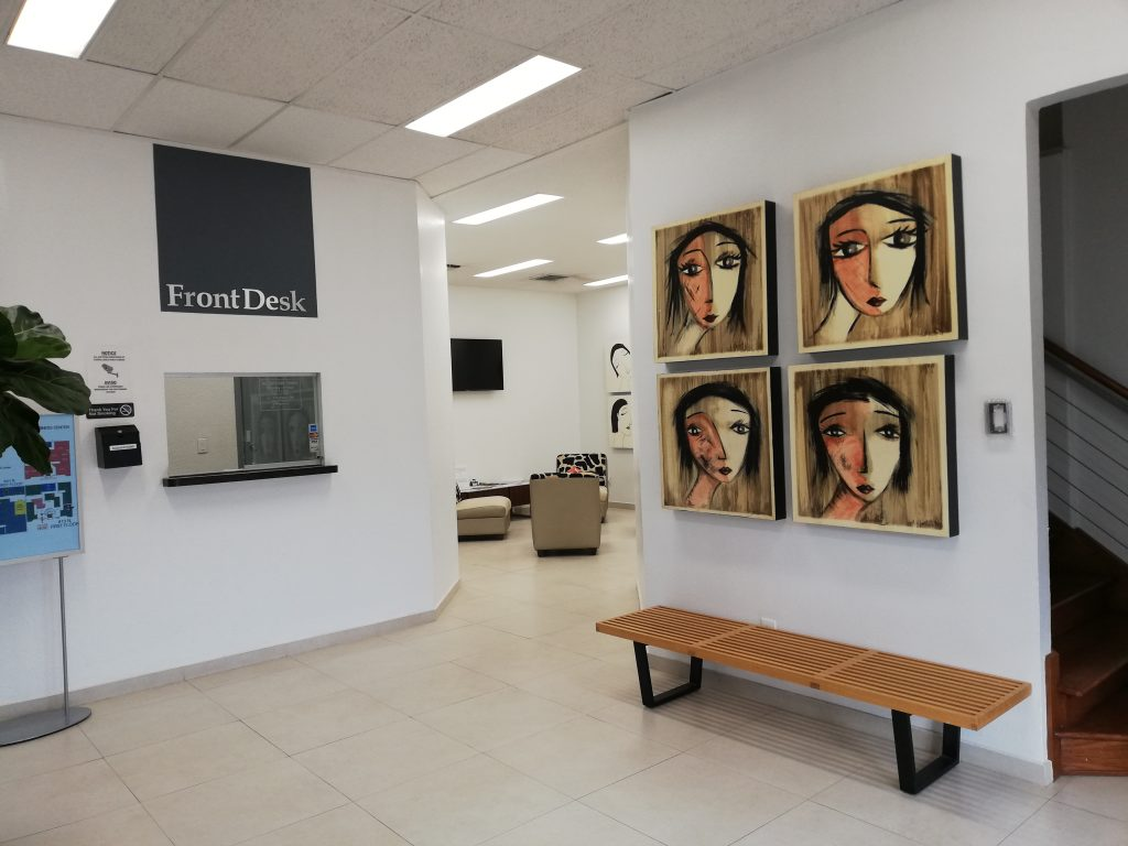Receptionist Lobby - Virtual Offices in McAllen