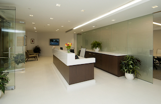 Receptionist Lobby - Virtual Offices in Mclean