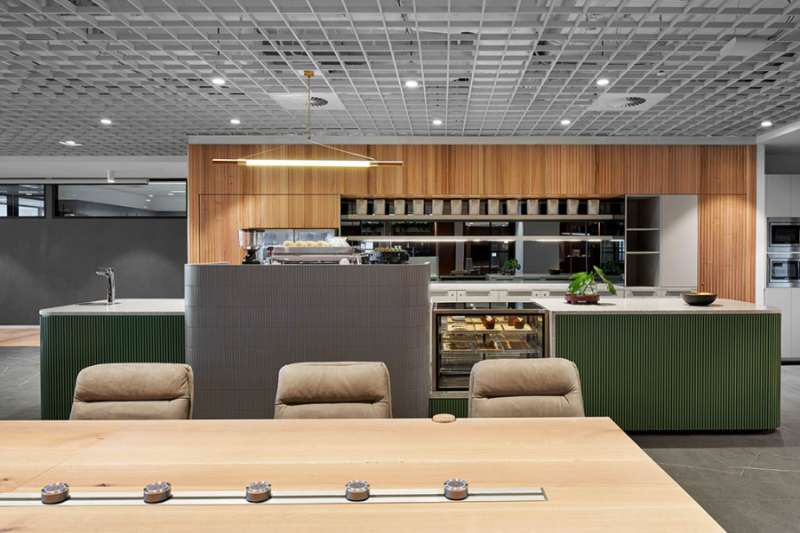 Break Area in Melbourne Virtual Office Space