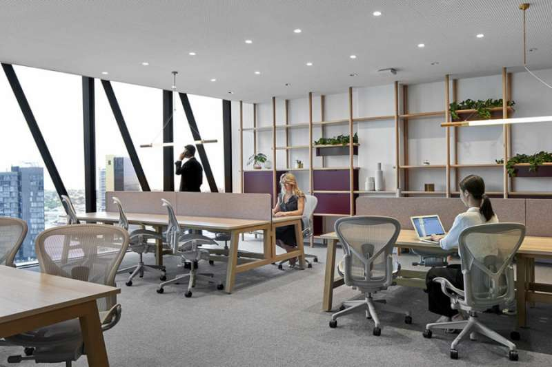 Melbourne Virtual Office Space - Comfortable Commons Area