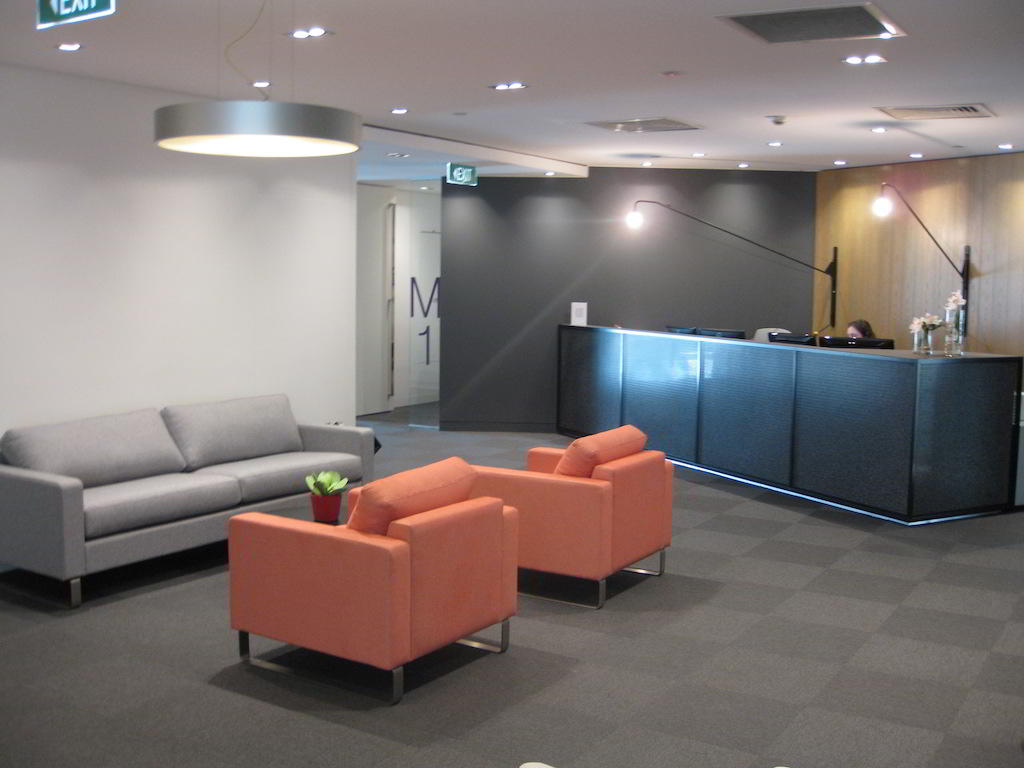 Receptionist and Mail Area - Melbourne Virtual Office