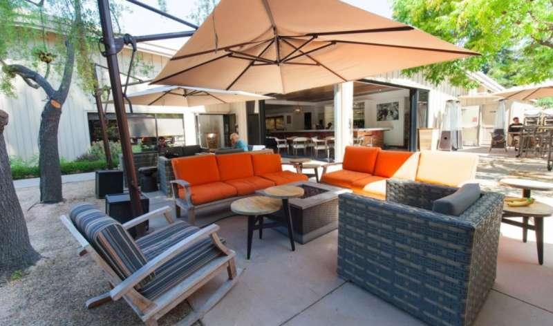 Menlo Park Busines Address - Lounge Area