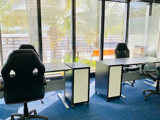Miami Beach  Virtual Office Address - Lounge Commons Area
