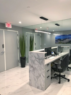 Receptionist and Mail Area - Miami Virtual Office