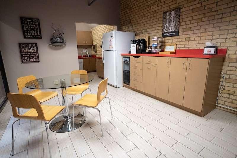 Break Area in Minneapolis Virtual Office Space