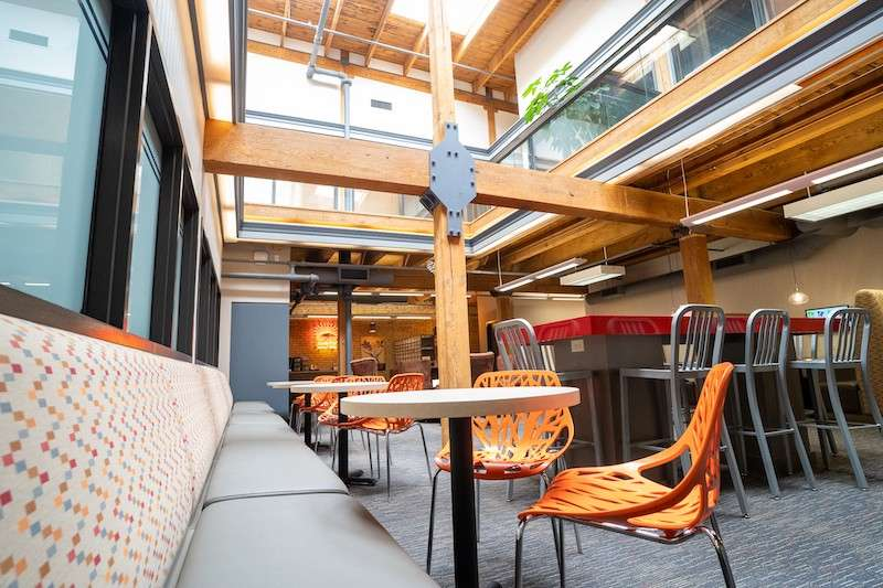 Minneapolis Virtual Office Space - Comfortable Commons Area