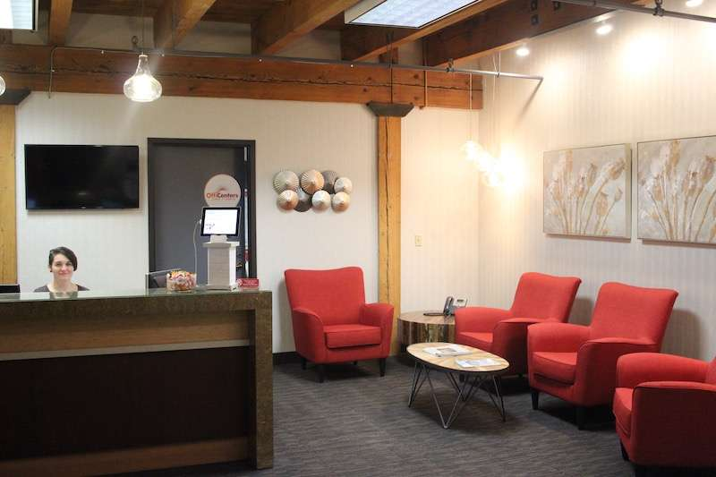 Receptionist and Mail Area - Minneapolis Virtual Office