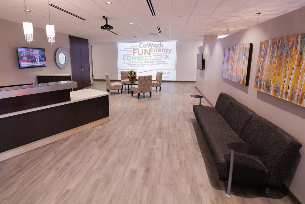 Receptionist Lobby - Virtual Offices in Minnetonka