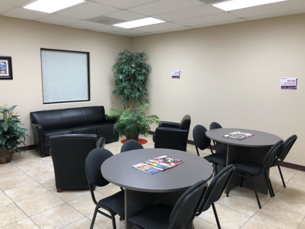 Mission Virtual Office Space - Comfortable Commons Area