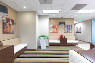 Receptionist and Mail Area - Mission Viejo Virtual Office