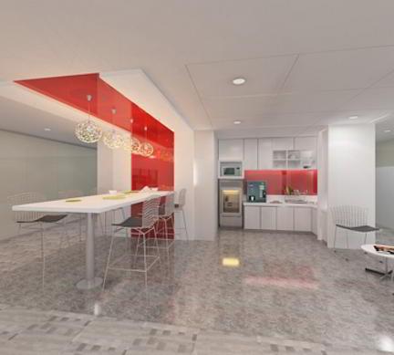 Break Room - Kitchen Area - Mumbai Virtual Office