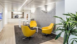 Munich Virtual Office Address - Lounge Commons Area