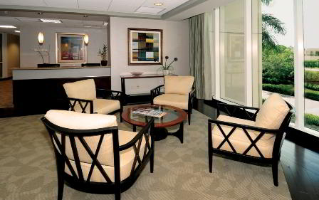 Receptionist Welcoming Area - Naples Virtual Office