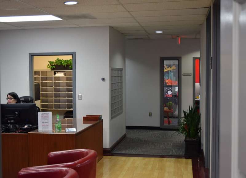 Nashville Live Receptionist and Business Address Lobby