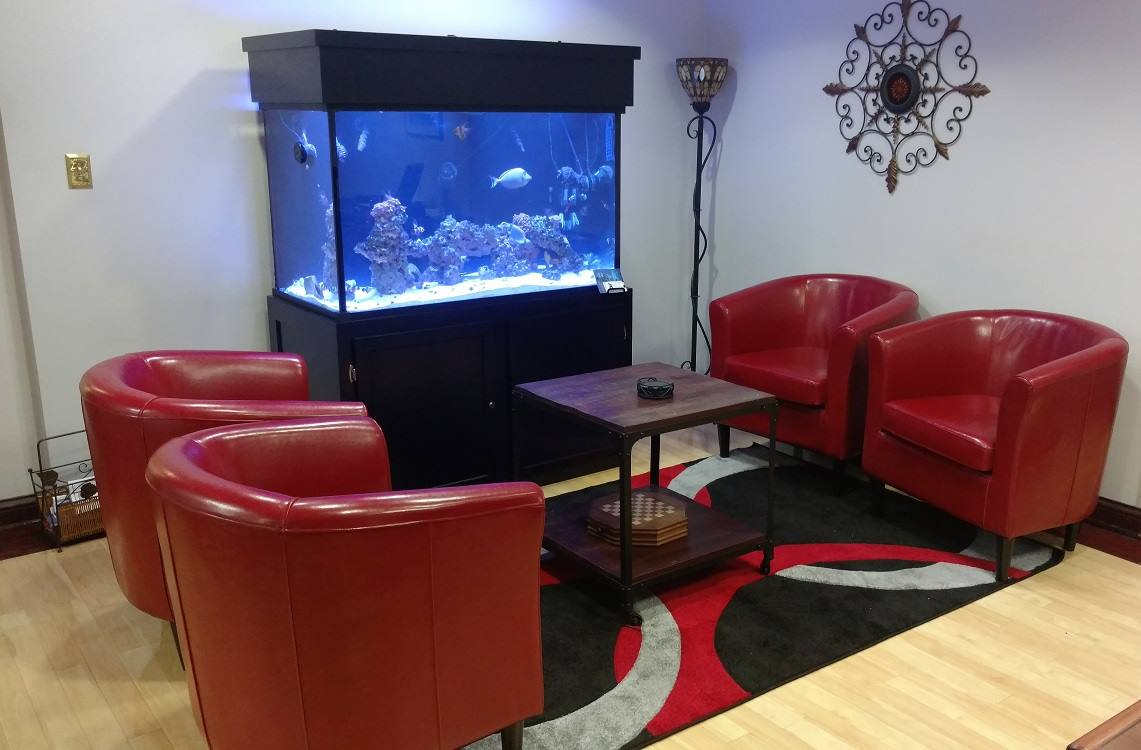Receptionist Lobby - Virtual Offices in Nashville