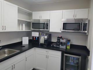 Break Room - Kitchen Area - New City Virtual Office