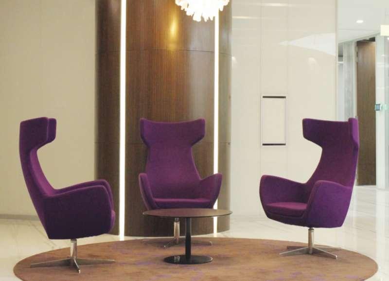 New Delhi Busines Address - Lounge Area