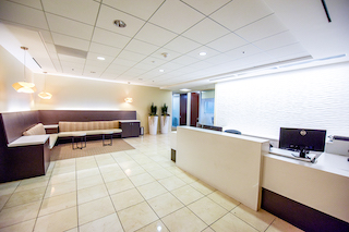Receptionist and Mail Area - Newport Beach Virtual Office
