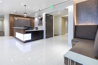 Receptionist Lobby - Virtual Offices in Newport Beach