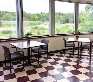 Break Area in Northborough Virtual Office Space