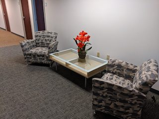 Northborough Virtual Office Space - Comfortable Commons Area