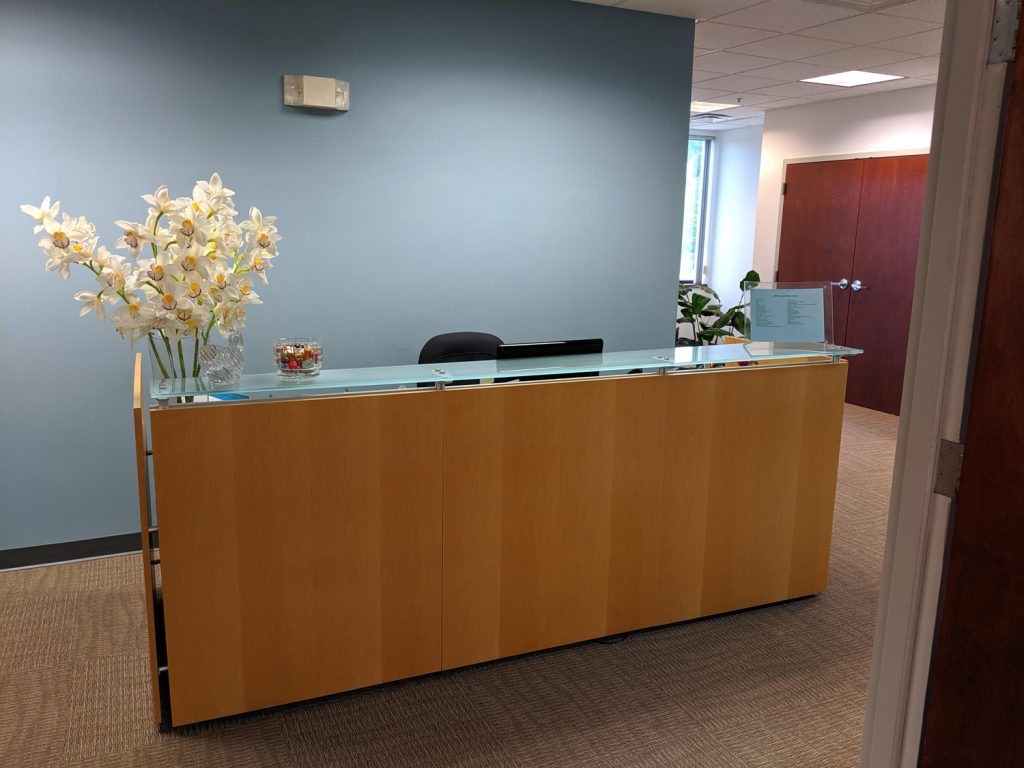 Receptionist Lobby - Virtual Offices in Northborough