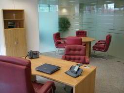Temporary Nottingham Office - Meeting Room