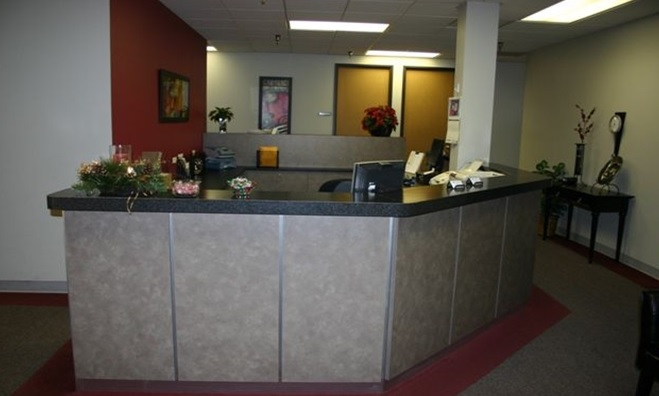 Receptionist Lobby - Virtual Offices in Omaha