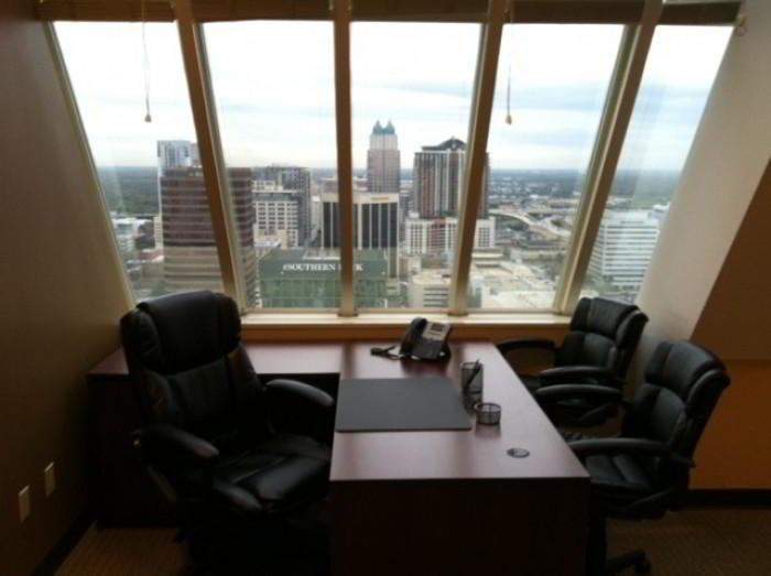 Temporary Orlando Office - Meeting Room