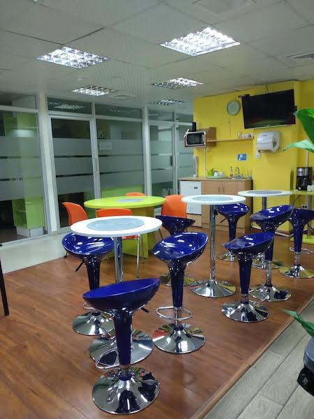 Break Room - Kitchen Area - Panama City Virtual Office