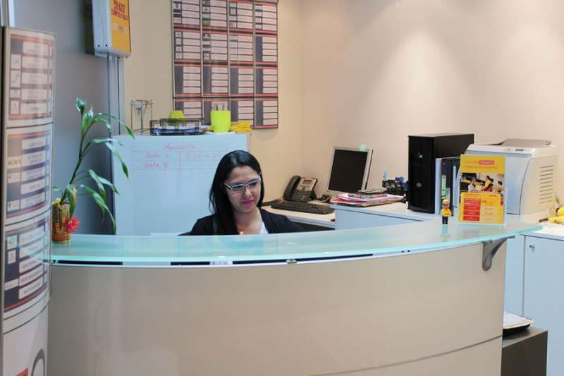 Receptionist Lobby - Virtual Offices in Panama City
