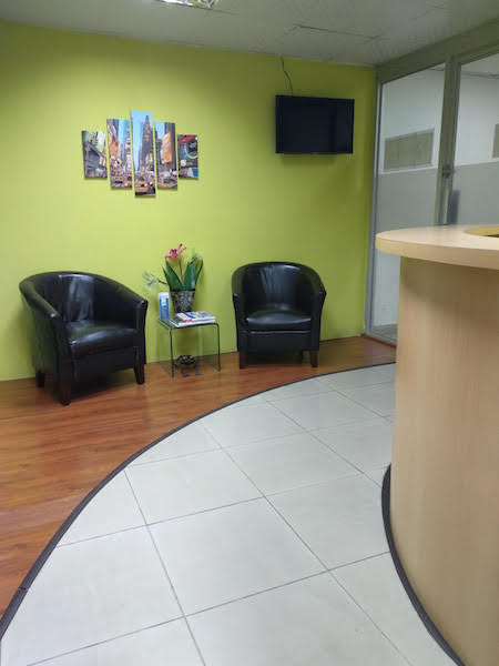 Receptionist and Mail Area - Panama City Virtual Office
