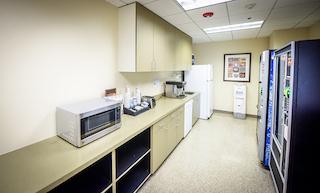 Break Area in Panorama City Virtual Office