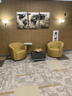 Parsippany Busines Address - Lounge Area