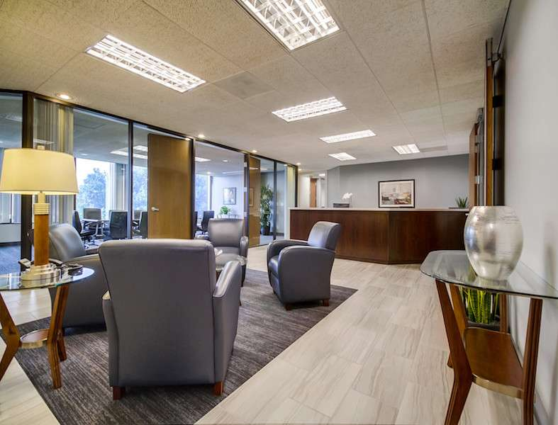Receptionist and Mail Area - Pasadena Virtual Office