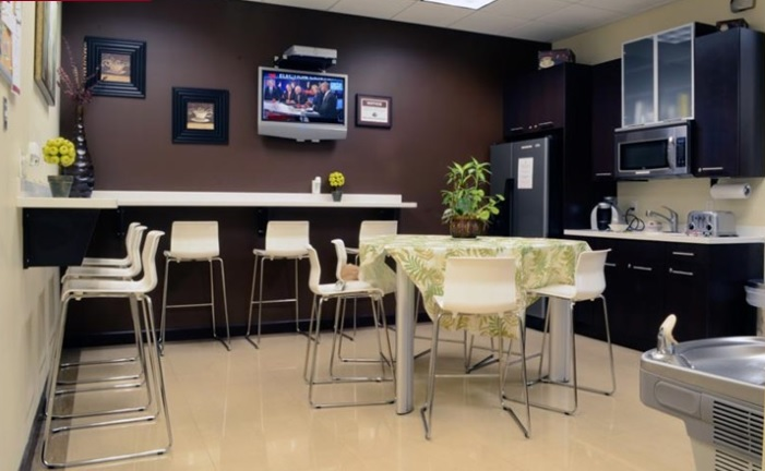Break Area in Pembroke Pines Virtual Office
