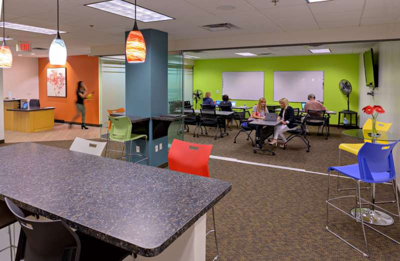Peoria Virtual Office Address - Lounge Commons Area