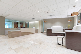 Receptionist and Mail Area - Phoenix Virtual Office